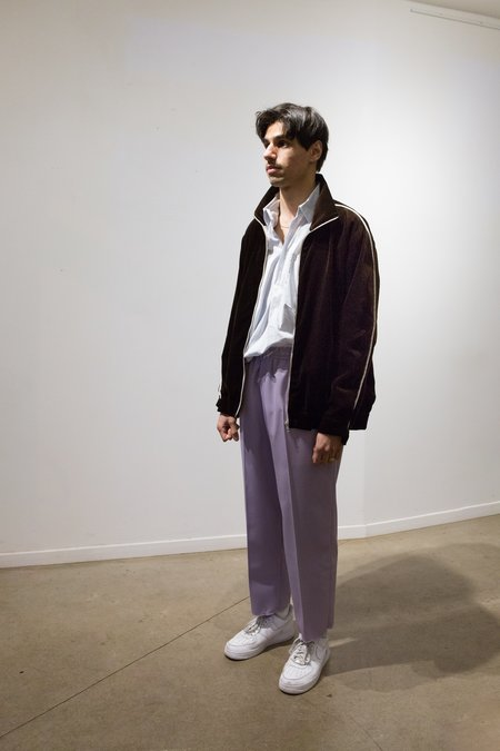 Camiel Fortgens Wool Cu Cu Pants - Lilac
