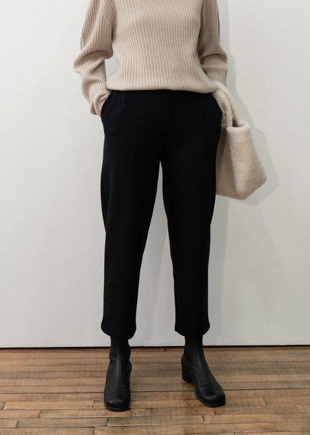 AMOMENTO garçonne wool pants