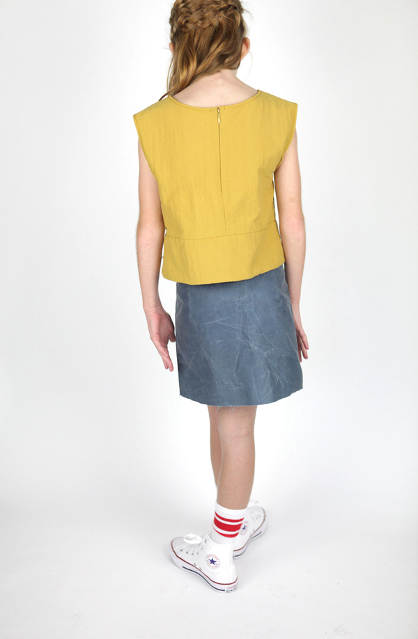 Morton & Mabel C Shell Top