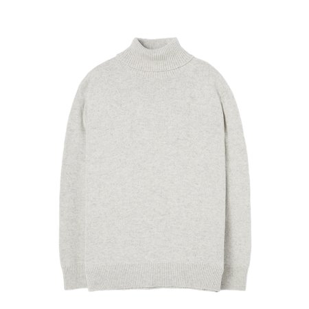 S-UNIVERSALWORKS Roll Neck Sweater - Natural