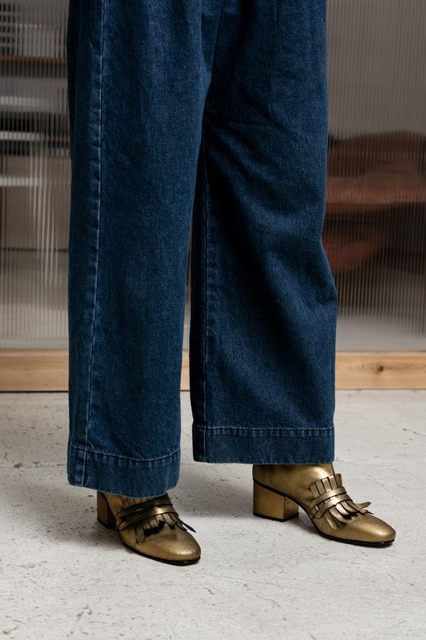 Rachel Comey Bevi Bootie - gold