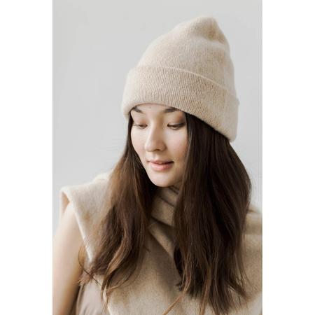 Bare Knitwear Andes Beanie - Cream