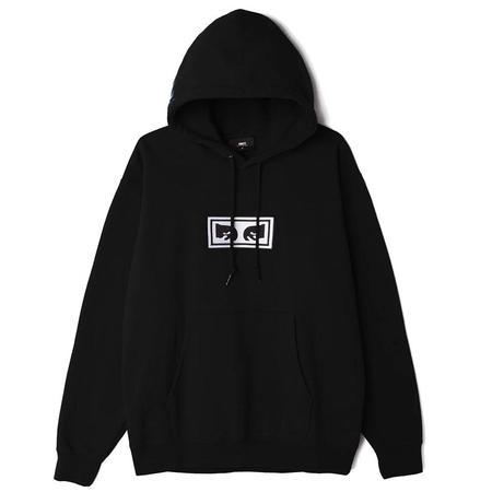 Obey Eyes Hood - Black