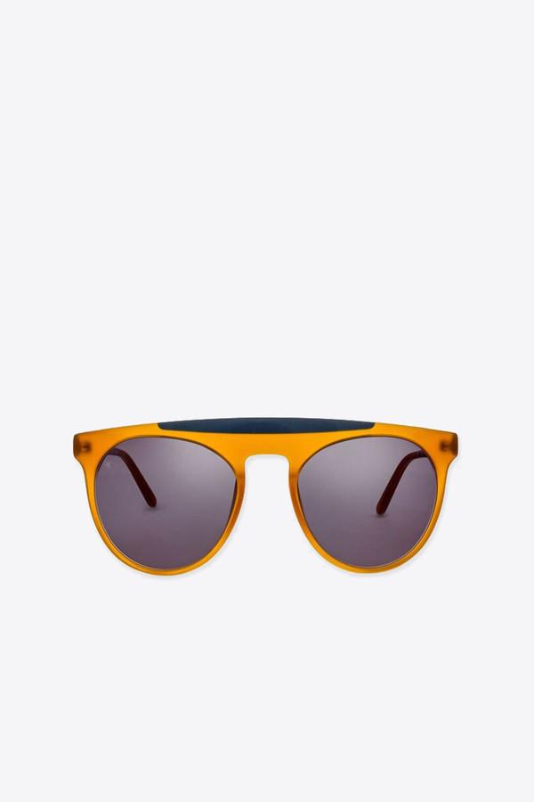 Men's Smoke x Mirrors Atomic sunglasses in honey/milky grey