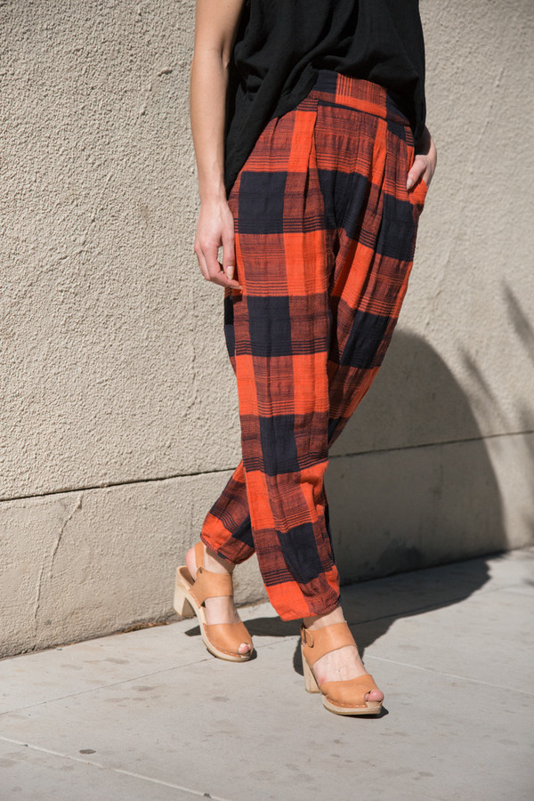 ace & jig casbah pant in pennant