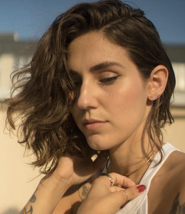 Tarin Thomas melania earrings