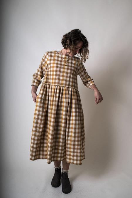 F O L D Gathered Dress