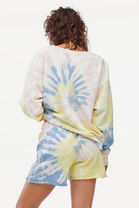 Lacausa Slater Sweatshorts - Ziggy Tie Dye