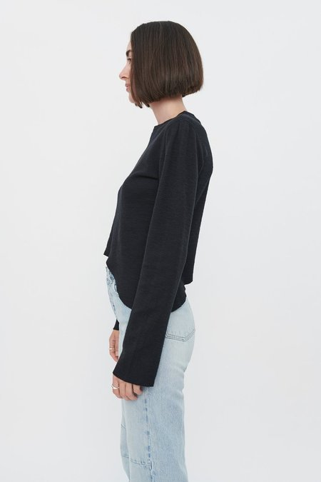 Our Legacy Wave Longsleeve Layer Jersey - Black