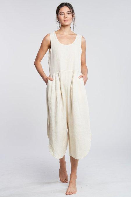 Filosofia Sam Linen Jumpsuit - Vanilla