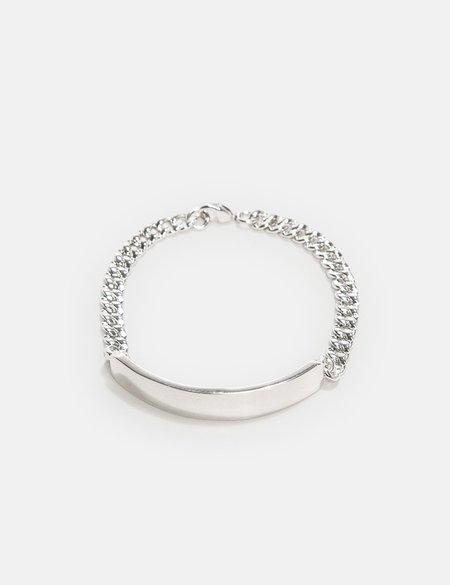 A.P.C. Darwin Curb Chain - Silver