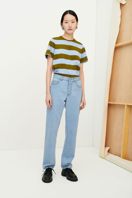 Kowtow Primary Jeans - pale blue denim