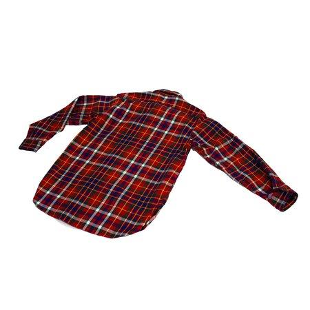 Engineered Garments Cotton Twill Plaid Work Shirt