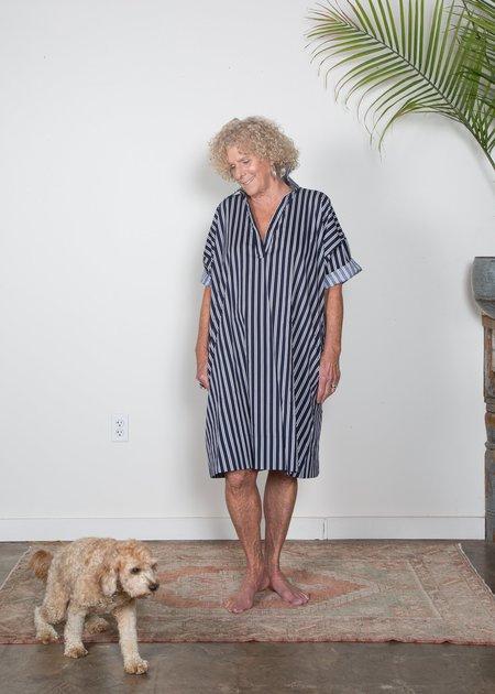 SBJ Austin Olamie Dress - Navy/White Stripe