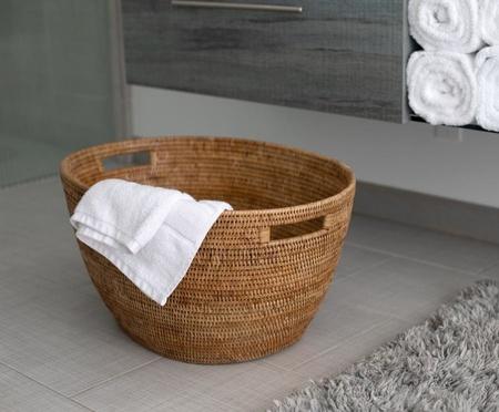Cameron Marks Rattan Laundry Basket