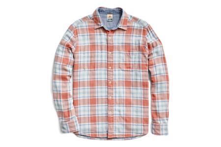 Faherty Brand Reversible Belmar Shirt - Foliage Plaid
