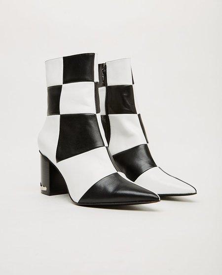 Toga Pulla Boot - Black/White Check