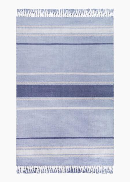 AMA Connection Puno blanket - blue
