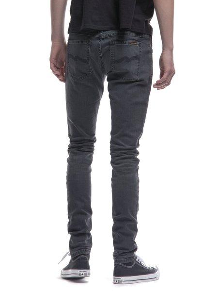 Nudie Jeans Skinny Lin Jeans - Black Seas