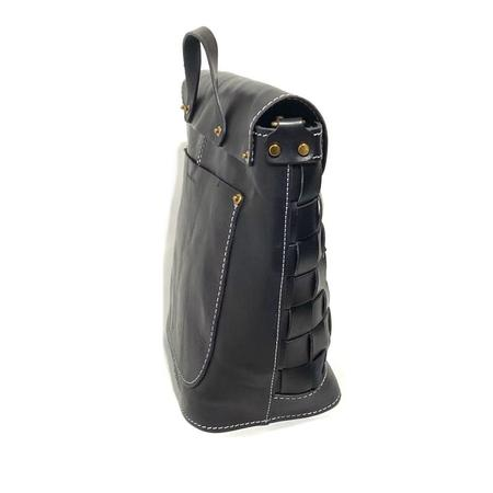 Uppdoo 'Venture Rustic Weaved Shoulder Bag - Black