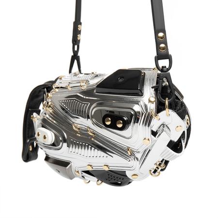 INNERRAUM Clutch cross body bag - silver