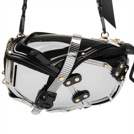 INNERRAUM Cross body/fanny pack bag - silver