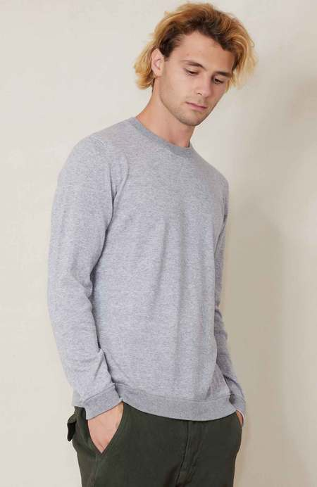 RON HERMAN Reversible Cashmere Blend Sweater