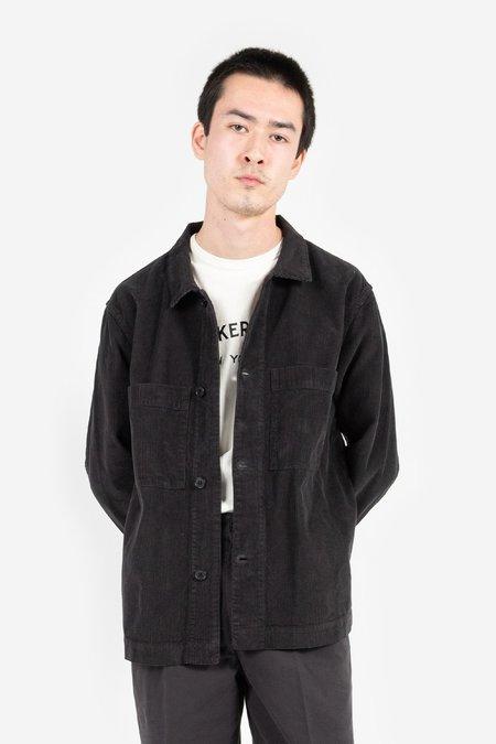 Knickerbocker Corduroy Chore Shirt - Black