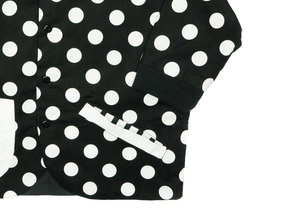 même SCOUT Polka Dot Varsity Jacket