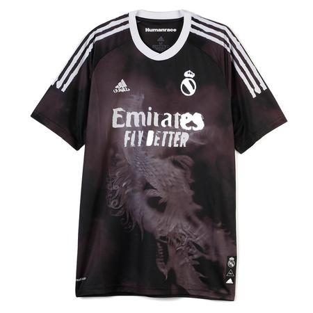 adidas Pharrell Williams Real Madrid Human Race FC Jersey - Black