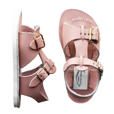 Zimmerman Shoes Baby And Child Stevie Sandals - Blush Pink