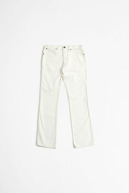 Lemaire Bootcut Pants - Off White