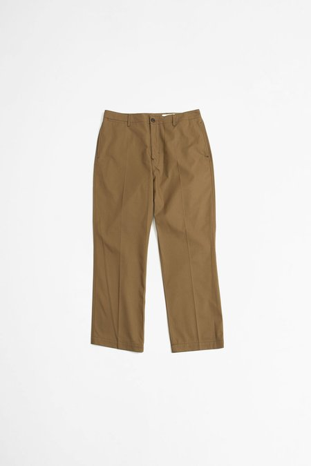 Lemaire Chino Pants - Dark Earth