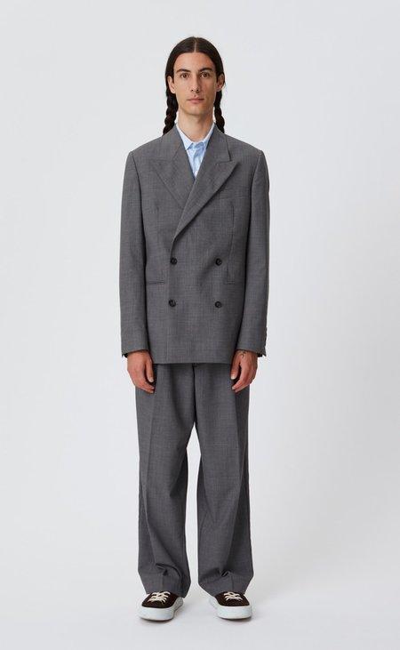 mfpen Double breasted jacket - grey