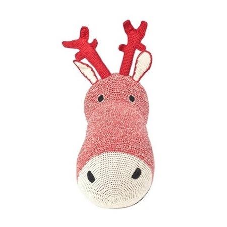 Anne-Claire Petit Reindeer Red Trophy Head - Dodo Les Bobos
