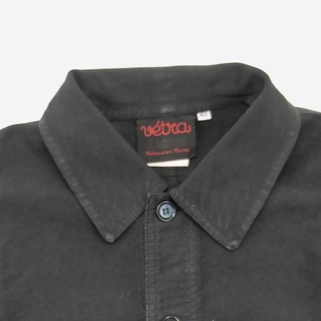 Vetra Workwear Chore French Moleskin Jacket - Elk Grey