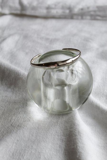 Suai Form Cuff Bracelet - Silver