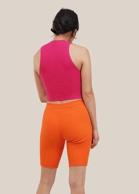 giu giu Nonna Bike Short - Tiger Orange