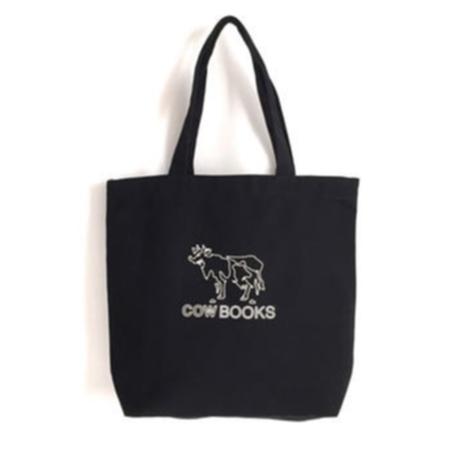 COW BOOKS Logo Tote - Black