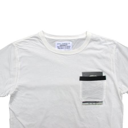 PEEL & LIFT Marx Pocket T-Shirt - White