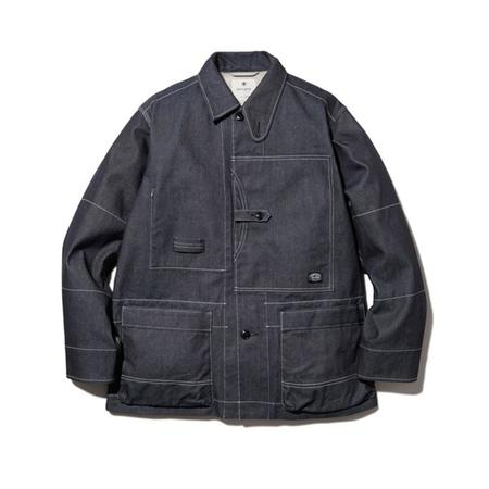 Snow Peak Takibi Denim Jacket - Indigo