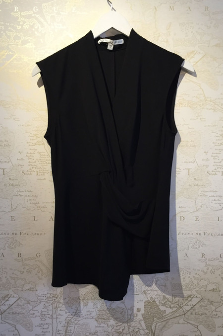 Veronica Beard 'Dixon' Drape top