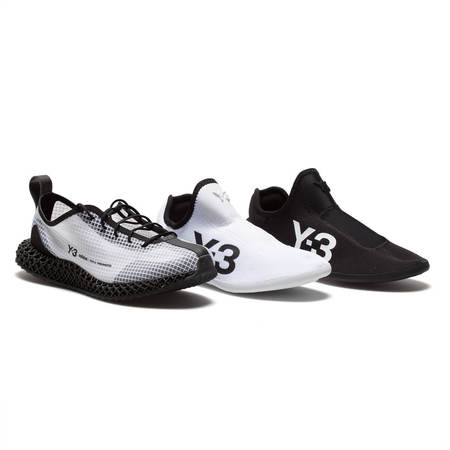 Y-3 Runner 4D IO sneakers - white