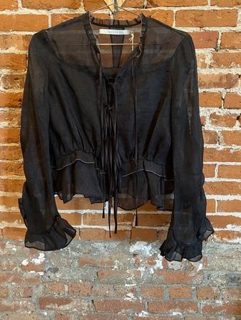 Renli Su Silk blouse - Black
