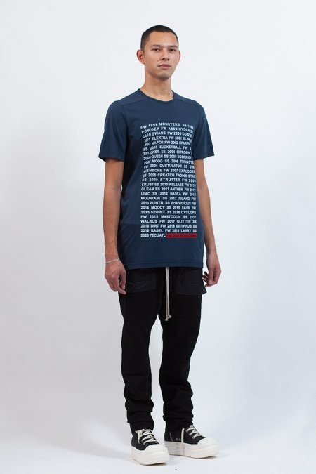 Rick Owens Level Tee - Collection Print