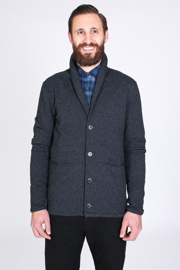 Men's Billy Reid Shawl Collar Jacket in Black