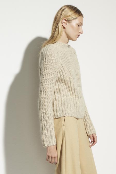 Vince Marled Raglan Pullover - Sepia