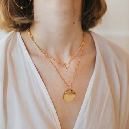 Mabel and Moss Andi Necklace - 14k gold-filled