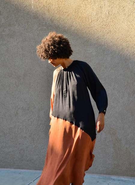 Seek Collective Caz Dress - black/rust