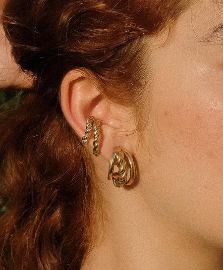 Luiny Interlaced Ear Cuff Set